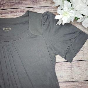 Womens plus size short sleeve blouse